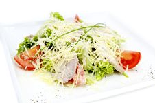 Salad Of Veal Royalty Free Stock Image