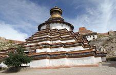 Buddhist Monastery In Tibet Stock Photos