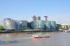 Free The River Thames In London Royalty Free Stock Photos - 23899918