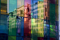 Free Color Mirror Wall Royalty Free Stock Image - 2398026