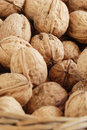 Free Walnuts On The Basket Stock Image - 2398411