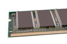 Memory Chips Stock Photo