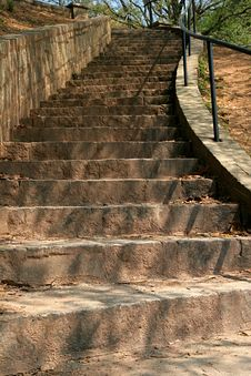 Free Stone Stairs Stock Images - 2392844