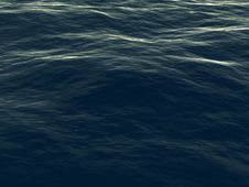 Free Wavy Sea Surface Stock Photos - 2394163
