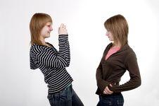 Free Teen Girls Royalty Free Stock Photos - 2394378