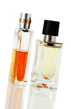 Free Elegant Perfume Bottles Royalty Free Stock Images - 2395019