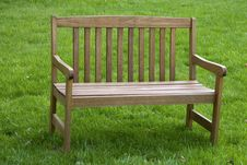 Free Park Bench Royalty Free Stock Image - 2395666