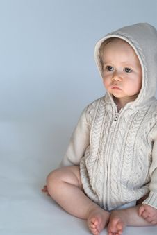 Free Sweater Baby Stock Image - 2397241