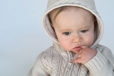 Free Sweater Baby Royalty Free Stock Photography - 2397287