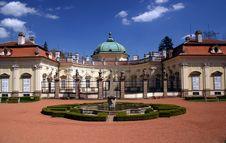 Free Castle - Czech Buchlovice Royalty Free Stock Photography - 2397317