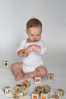 Free Baby Blocks Stock Photography - 2397372