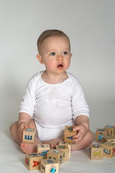 Free Baby Blocks Stock Photography - 2397382