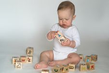 Free Baby Blocks Stock Image - 2397401