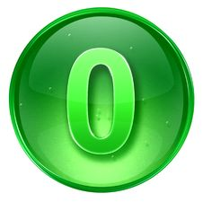 Free Number Zero Icon. Royalty Free Stock Photography - 2398577