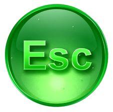 Free Esc Icon. Royalty Free Stock Photos - 2398628