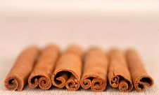Free Several Cinnamon Sticks Stock Photos - 2399043