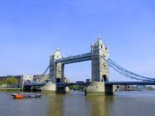 Free Tower Bridge 4 Royalty Free Stock Image - 2399156