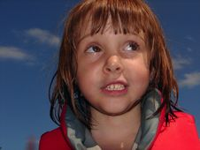 Free Little Girl Close Up Royalty Free Stock Photography - 2399417