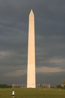 Free Washington Monument Royalty Free Stock Image - 2399446