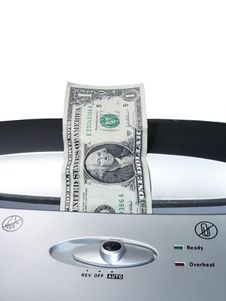 Free Dollar Bill Shredding 2 Stock Images - 2399734