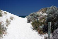 Free White Sand Stock Image - 2399881