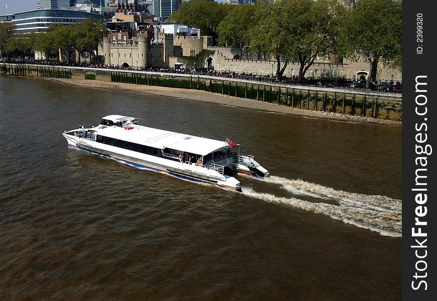 River Thames Boat 3