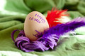 Free Easter Simple Wreath Royalty Free Stock Images - 23905449
