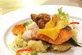 Free Grilled Salmon Fillet Steak Stock Image - 23909341