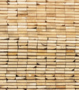 Free A Stack  Of Wooden Boards From Ends Royalty Free Stock Photo - 23909475
