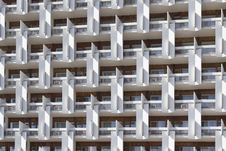 The Facade Of A Multi-storey Buildings.