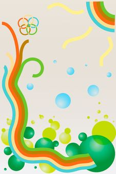 Free Spring Background Royalty Free Stock Photo - 23902085