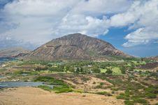 Free View Of Diamond Head Crater Stock Photos - 23903933