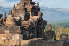 Free Borobudur Temple, Central Java, Indonesia Royalty Free Stock Photography - 23904787