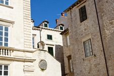 Free View On Dubrovnik Old Town. Royalty Free Stock Photos - 23904848