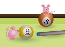 Free Lets Play Billiards Stock Image - 23908081