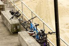Free Parked Pushbikes Royalty Free Stock Photos - 23908388