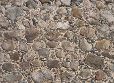 Background Of Old Stone Wall Royalty Free Stock Photos