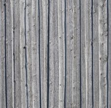 Free Old Gray Weathered Knotted Wooden Wall Stock Photos - 23909473