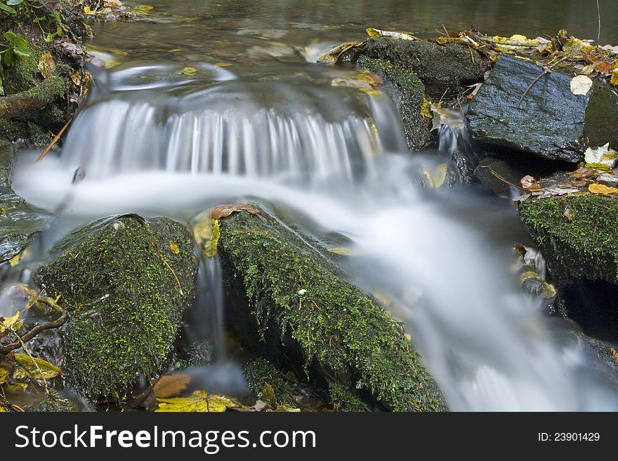 Weir on the stream