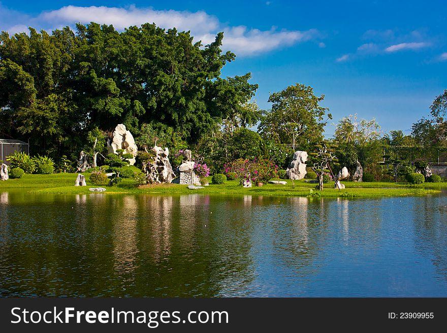 Milliom years stone park