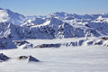 Free Peaks Above Clouds, Winter In The Austrian Alps Royalty Free Stock Image - 23911016