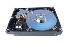 Free Disassemled Hard Disc Isolated Royalty Free Stock Photography - 23910067