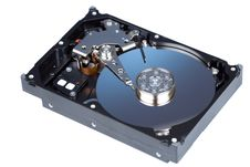 Free Disassemled Hard Disc Isolated Stock Images - 23910084
