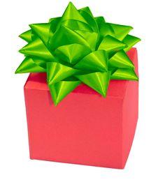 Gift Boxes  Band   Bow Royalty Free Stock Photos