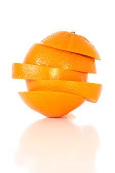 Free Sliced Orange Fruit Stock Images - 23913964