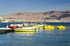 Free Water Sport Facilities In Eilat, Israel Stock Images - 23914604