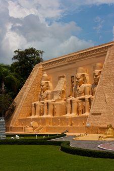 Mini Egypt Royalty Free Stock Image