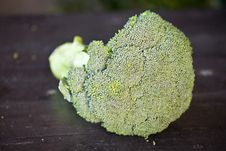 Free Fresh Broccoli Royalty Free Stock Photo - 23916545