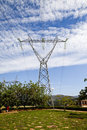 Free Power Line Tower Stock Image - 23920071