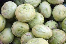 Free Kohlrabi On Market Stock Images - 23920034